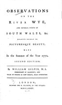 Observations on the River Wye