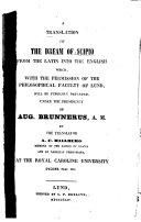 Pdf A Translation of The Dream of Scipio