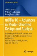 mODa 10     Advances in Model Oriented Design and Analysis
