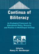 Continua of Biliteracy