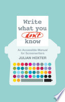 Write What You Don t Know