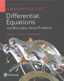 Fundamentals of Differential Equations and Boundary Value Problems Plus MyMathLab with Pearson EText -- Access Card