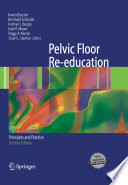 Pelvic Floor Re education Book