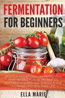 Fermentation For Beginners Book PDF
