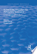 Sustainability  Innovation and Participatory Governance