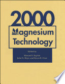 Magnesium Technology 2000 Book PDF