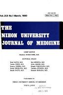 The Nihon University Journal of Medicine