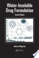 Water Insoluble Drug Formulation