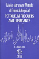 Modern Instrumental Methods of Elemental Analysis of Petroleum Products and Lubricants