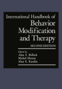 International Handbook of Behavior Modification and Therapy Pdf/ePub eBook