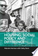 Housing  Social Policy and Difference Book