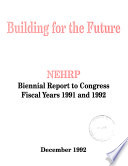 Biennial Report to Congress