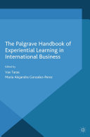 Pdf The Palgrave Handbook of Experiential Learning in International Business Telecharger