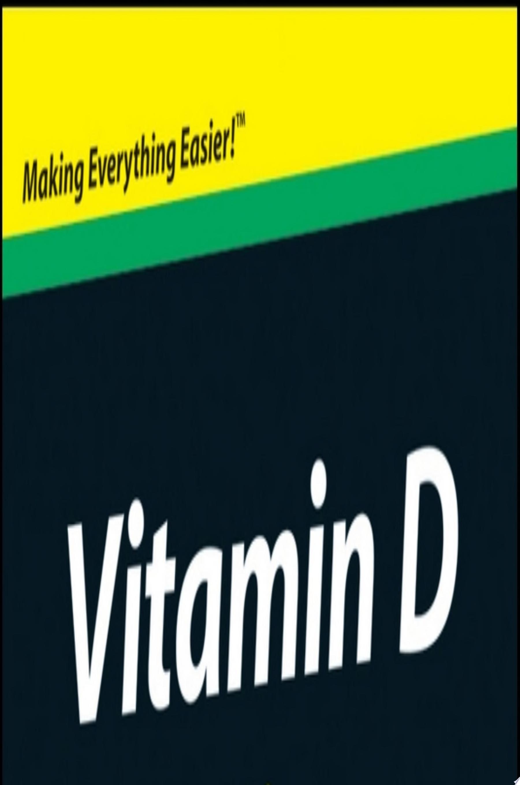 Vitamin D For Dummies