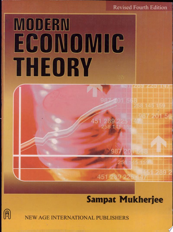 Modern Economic Theory banner backdrop