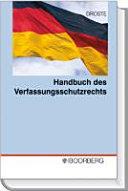 Handbuch des Verfassungsschutzrechts