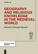Pdf Geography and Religious Knowledge in the Medieval World Telecharger
