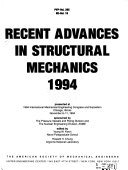 Recent Advances in Structural Mechanics