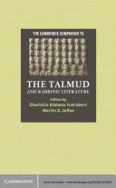 The Cambridge Companion to the Talmud and Rabbinic Literature [Pdf/ePub] eBook