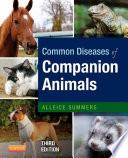Common Diseases of Companion Animals   E Book