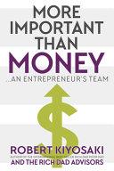 More Important Than Money PDF