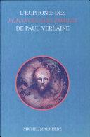 Pdf L'euphonie des Romances sans paroles de Paul Verlaine Telecharger
