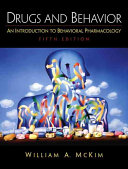 Drugs And Behavior Book PDF