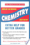 High School Chemistry Review