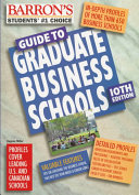 Barron S Guide To Graduate Business Schools Book PDF