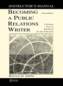Becoming a Public Relations Writer Instructor s Manual