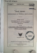 Enforcement Of Federal Regulations