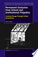 Permanent Exclusion from School and Institutional Prejudice