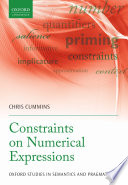 Constraints on Numerical Expressions