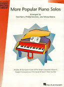 More Popular Piano Solos   Level 5  Music Instruction