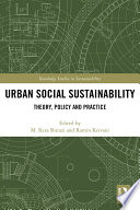 Urban Social Sustainability