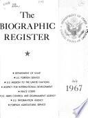 The Biographic Register of the Department of State