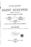 Œuvres complètes de Saint Augustin