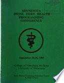 Minnesota Swine Herd Health Programming Conference