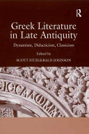 Pdf Greek Literature in Late Antiquity Telecharger