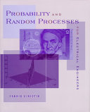 Probability And Random Processes For Electrical Engineers Book PDF
