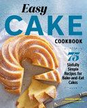 Easy Cake Cookbook Pdf/ePub eBook