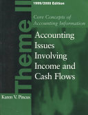 Core Concepts of Accounting Information  1999 2000