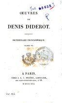 *Oeuvres completes de Diderot tome 1 [-26].