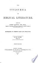 The Cyclop  dia of Biblical Literature Book PDF