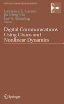 Pdf Digital Communications Using Chaos and Nonlinear Dynamics Telecharger