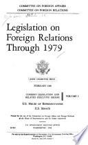 Legislation on Foreign Relations Through 1979 Book