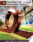 """Elementary and Intermediate Algebra"" by Alan S. Tussy, R. David Gustafson"