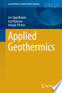 Applied Geothermics Book