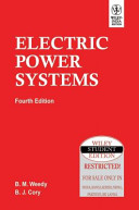 Electric Power Systems  4Th Ed Book