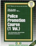 Police Promotion Course